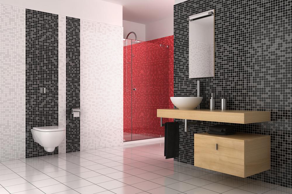 Focus On: L\'eleganza di un bagno con mosaico